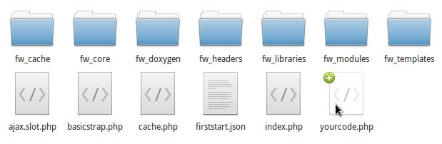 OpenSencillo 2015.003 file system